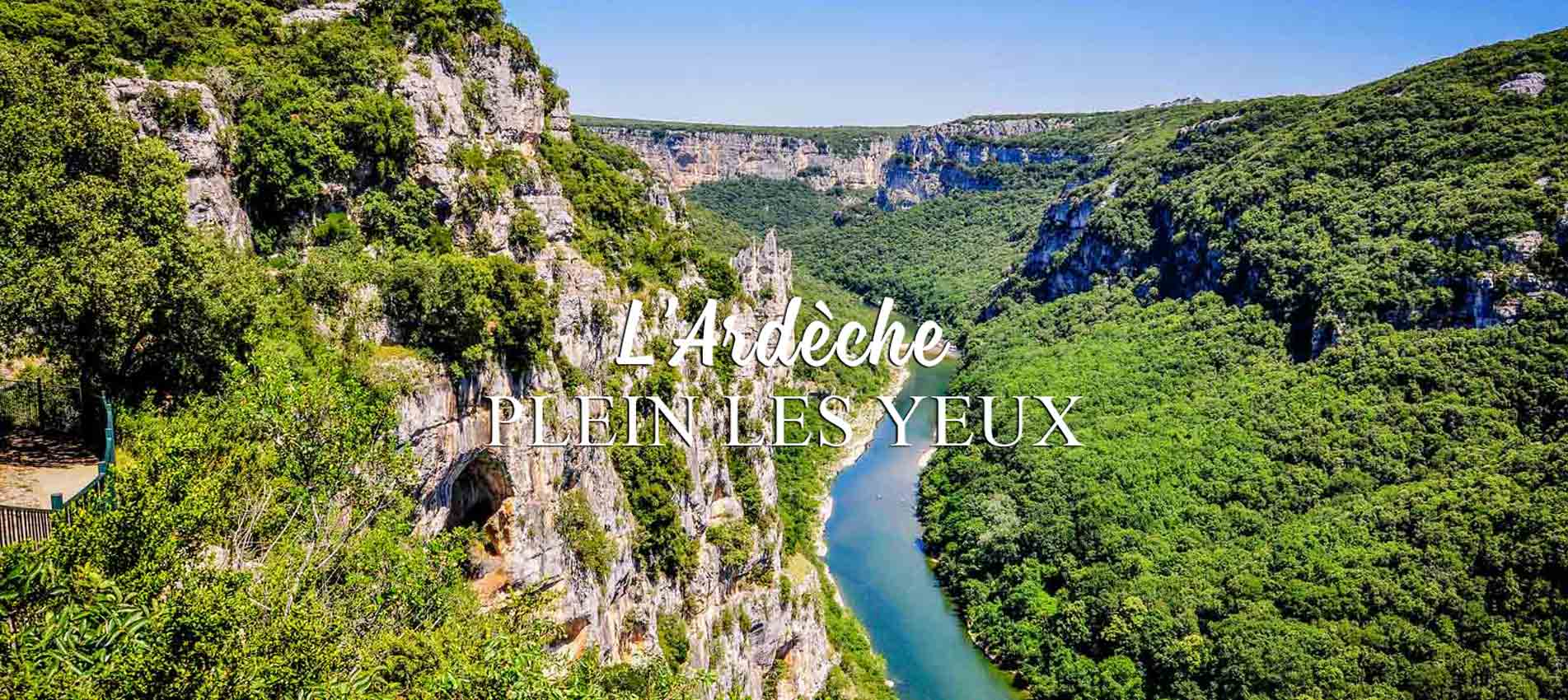 camping location ardeche