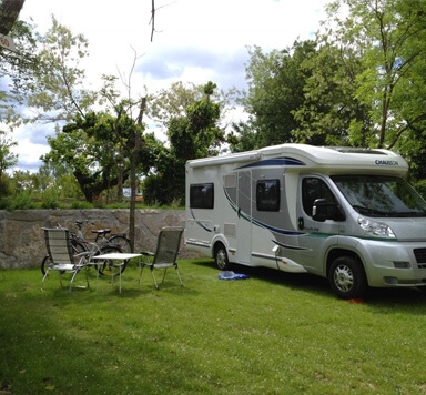 camping-car ardeche emplacement