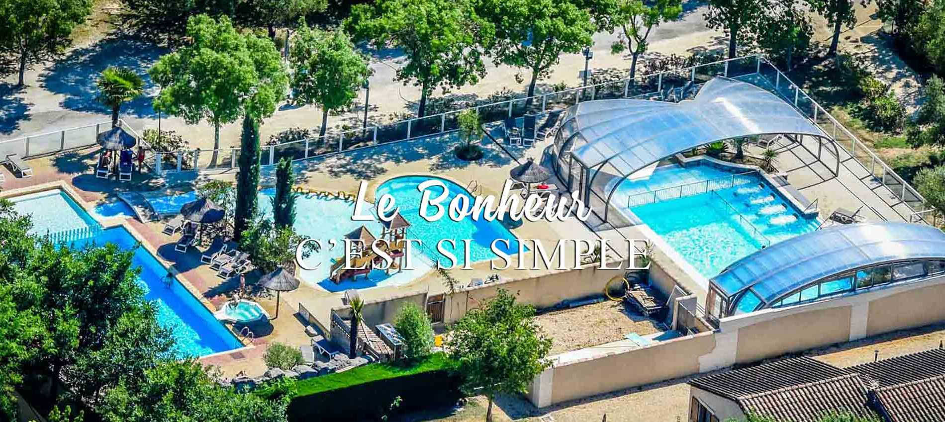 camping piscine location ardeche